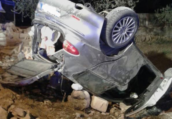 Crispiano-Montemesola, incidente nella notte: due morti, due feriti gravissimi