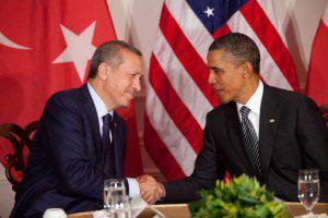Erdogan e Obama (Allan Tannenbaum-Pool/Getty Images)