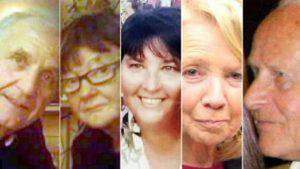 Le cinque vittime italiane (websource)