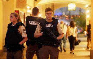 La polizia tedesca (Johannes Simon/Getty Images)