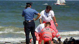 I soccorsi per la donna di Giulianova (Web)