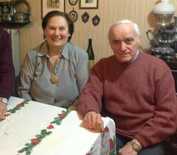 Bruna e Cesare, gli anziani coniugi sepolti dalle macerie