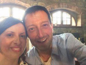Matteo Gianlorenzi e Barbara Marinelli (Facebook)