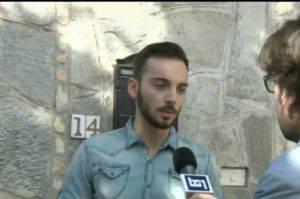 Giosué Ruotolo (ritaglio video)