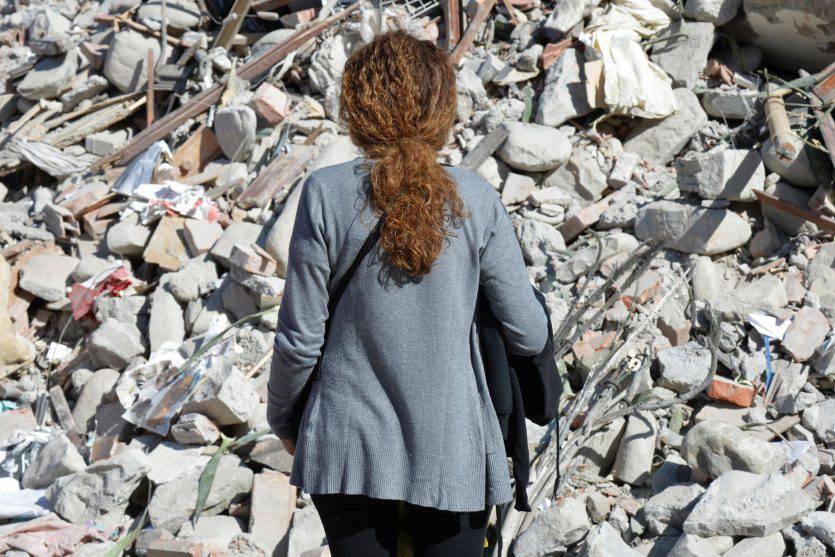 Terremoto (ANDREAS SOLARO/AFP/Getty Images)