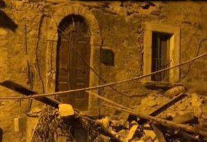 I danni del terremoto (foto dal web)