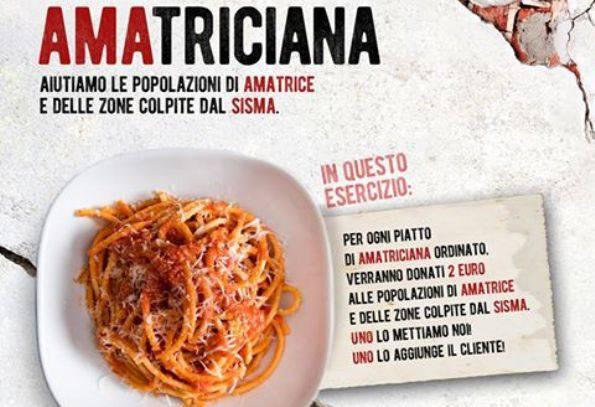 Terremoto: ristoratori uniti per aiutare Amatrice