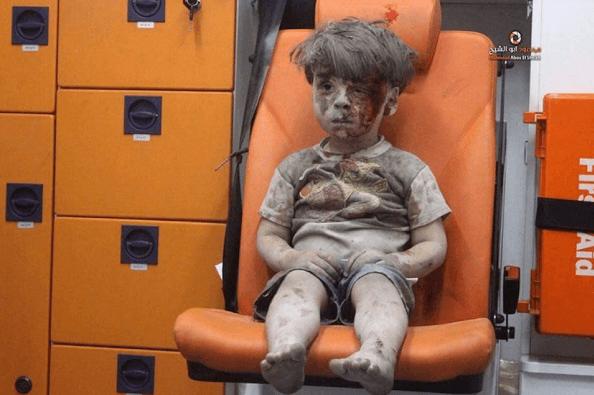 Tutta la guerra negli occhi di Omran
