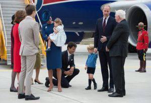 Duke of Cambridge, Duchess of Cambridge, Prince George, Prin