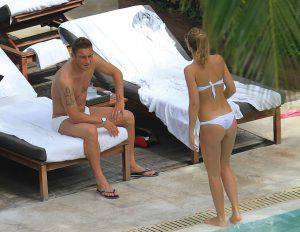 Francesco Totti e Ilary Blasi  (Photo by Bauer-Griffin/GC Images)