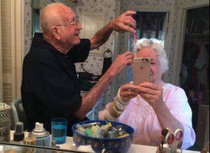 Il selfie che sta commuovendo il web (Twitter)