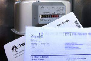 Bolletta del gas (websource/archivio)