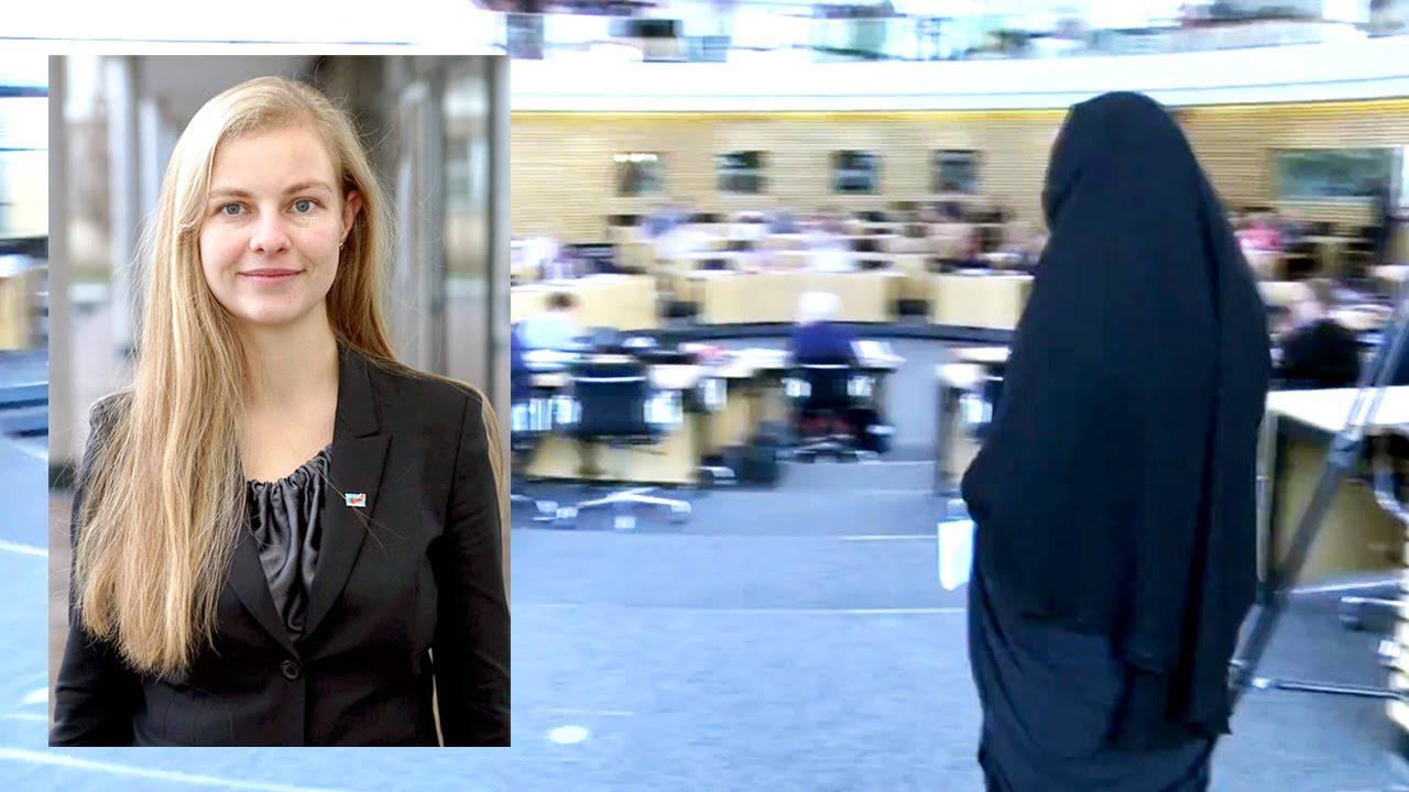 Deputata in aula con il niqab: ecco le reazioni