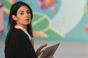 Virginia Raggi (ANDREAS SOLARO/AFP/Getty Images)