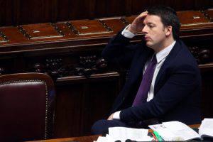 Renzi alla Camera (Franco Origlia/Getty Images)