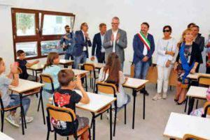 L'inaugurazione della scuola (foto dal web)