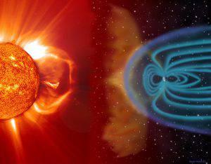 Il sole e la tempesta geomagnetica