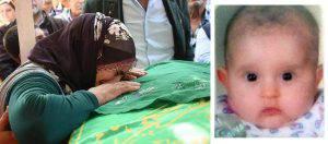 La piccola vittima e sua mamma che piange la sua morte (Websource)