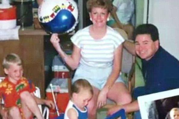 Richard Hoagland, 23 anni fa (foto dal web)