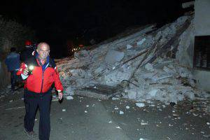 Earthquake in central Italy