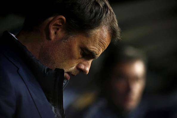 Frank de Boer (Photo credit should read MARCO BERTORELLO/AFP/Getty Images)