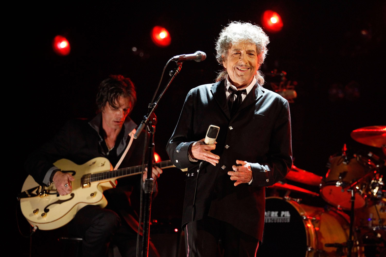 Bob Dylan riceve il riconoscimento della carriera