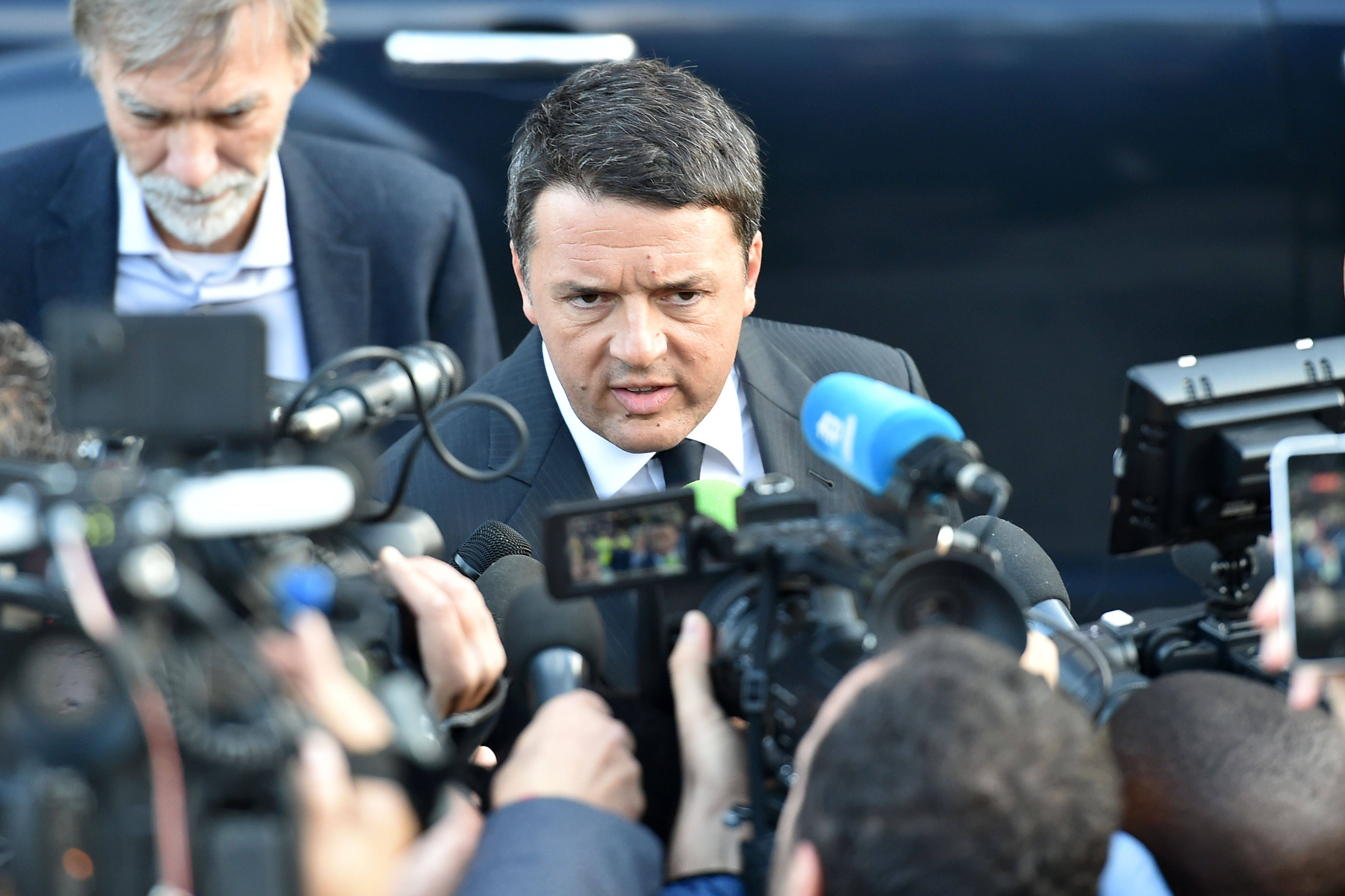 Matteo Renzi (ALBERTO PIZZOLI/AFP/Getty Images)
