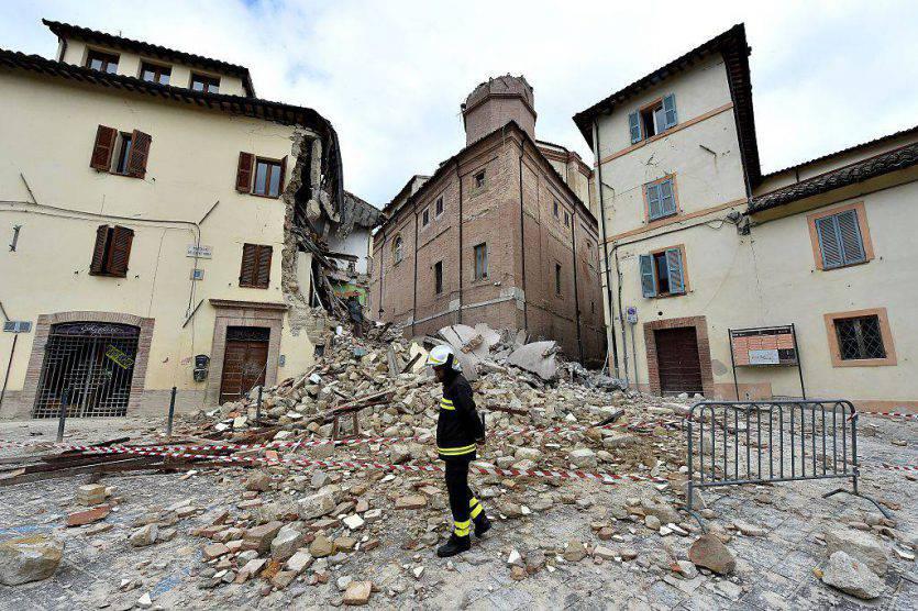 Geologi: il suolo si è abbassato di oltre 25 centimetri