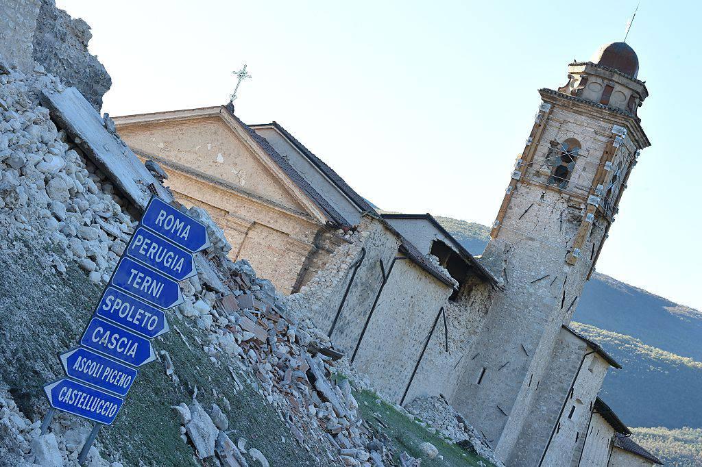 Terremoto (ALBERTO PIZZOLI/AFP/Getty Images)