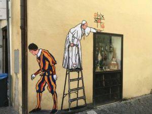 Il murale cancellato dal Comune di Roma (Websource)