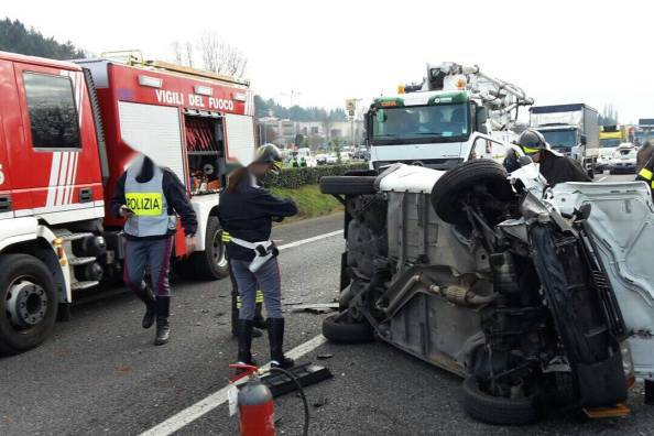 Tragico incidente sulla Monti Lepini: due morti. Strada chiusa al traffico
