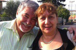 Gianna Del Gaudio insieme al marito (Websource)