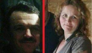 La coppia di coniugi rumeni (Websource)