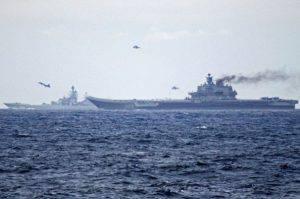 Vascelli russi nei Mari del Nord (foto marina norvegese)
