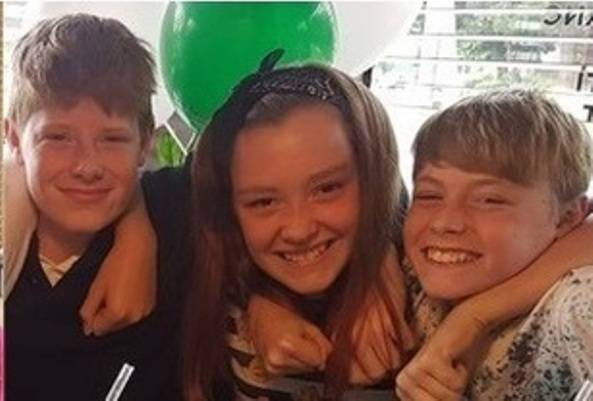 Le tre giovani vittime della strage (websource)