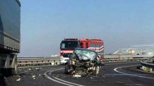 La scena dell'incidente (Websource)