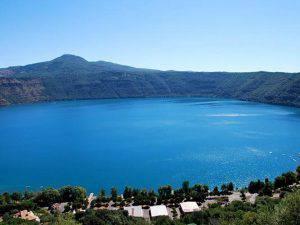 Il cratere del lago di Castelgandolfo (Websource)