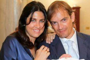 Matteo Cagnoni con Giulia Ballestri (foto dal web)