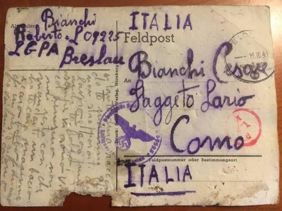 """""""Sto bene"""": la cartolina inviata da lager nazisti   nasconde un inquietante segreto –FOTO"""