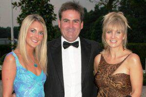 Richard Keys con moglie e figlia (websource)