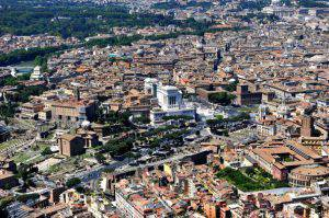 Veduta aerea di Roma (AFP/Getty Images)