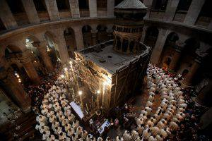 La Chiesa del Santo Sepolcro (GALI TIBBON/AFP/Getty Images)