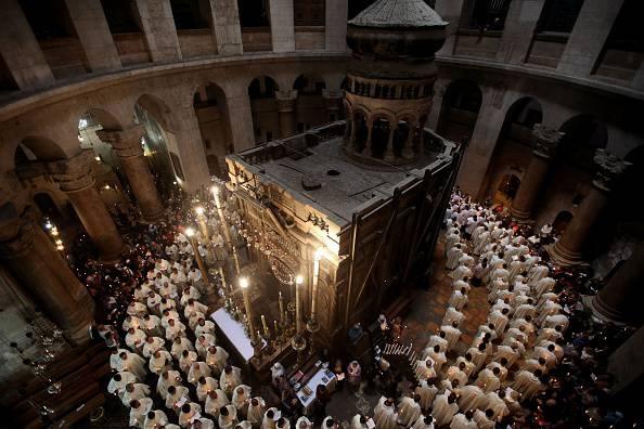 Restauro del Santo Sepolcro, una scoperta straordinaria