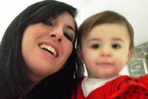 Sofia Saddi e la sua mamma (foto dal web)