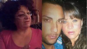 Stefania Formicola insieme al suo assassino Carmine D'Aponte e sua mamma (Websource)