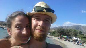 Emanuele Barosselli e la fidanzata Paola (Facebook)