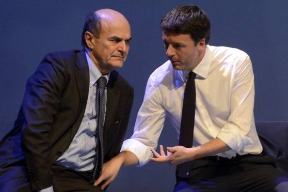 """Bersani a Renzi: """"Da certa gente meglio gli insulti"""""""