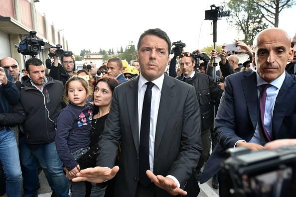 Matteo Renzi (ALBERTO PIZZOLI/AFP/Getty Images)