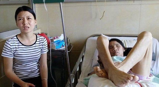 Cao Mengyuan e la sua mamma (foto dal web)