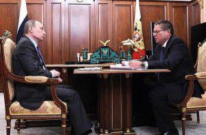 Il ministro arrestato al tavolo insieme a Putin (Websource)
